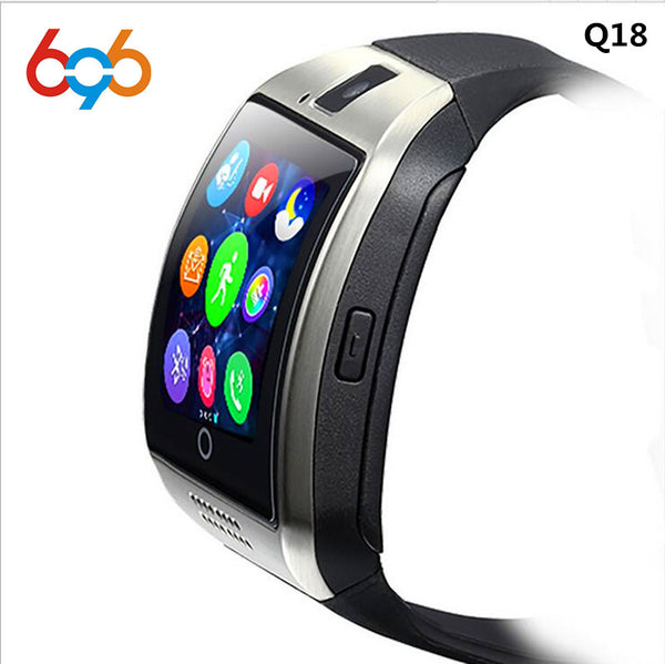Smartch Bluetooth Smart Watch Q18 With Camera Facebook Whatsapp Twitter Sync SMS Smartwatch Support SIM TF Card For IOS Android - inaaz.biz