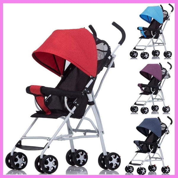 Super Light Mini Small Baby Stroller Folding Umbrella Baby Carriage Light Shock Absorber Portable Travel Car Foldable Pushchair