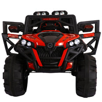 Electric Car Kids four-wheel drive electric SUV Vehicle can sit on baby toy car