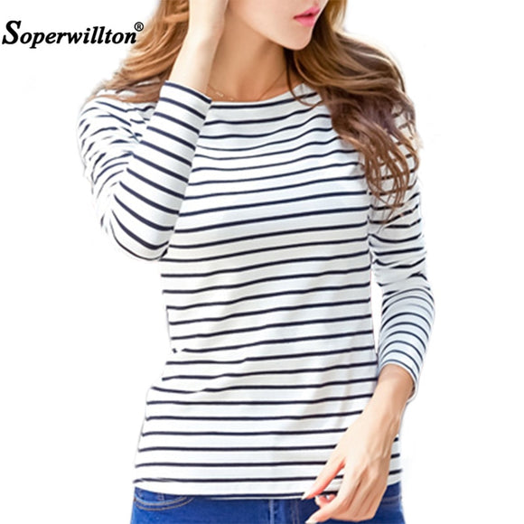 Women T Shirt Female Short Sleeve Stripped Summer 2019 Women's Clothing Casual T-Shirts  Plus Size