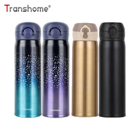 Transhome Creative Thermo Mug For Coffee 500ml Stainless Steel Thermos Bpa Free Starry Sky Vacuum Flask Outdoor Travel Thermocup - inaaz.biz