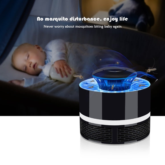 UV light Bulb Anti Mosquito Zapper USB LED Electric Mosquito Killer Repellent lamp Insect Fly Bug Pest Control Trap