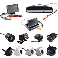 Viecar 4.3 Inch Auto Parking System HD Car Rearview Mirror Monitor  and 170 degrees Waterproof Car rear view camera - inaaz.biz