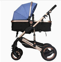 Wisesonle baby stroller 2 in 1 stroller lying or dampening folding light weight two-sided child four seasons Russia free shippin - inaaz.biz