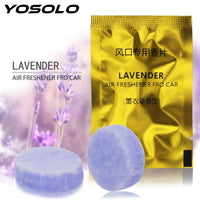 Car Air Freshener YOSOLO 2pcs/pack Car Vent Clip  Solid Perfume - inaaz.biz