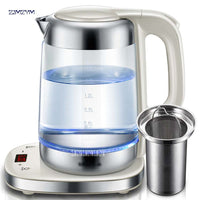 Electric kettle with glass thickness automatic temperature control pot 1800 W 220V