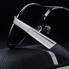 Men Sunglass Summer HD Polarized Sunglasses  Vintage Outdoors Anti-UV Driving Goggle Men's Accessories