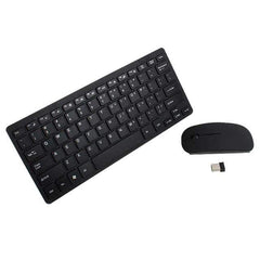 Ultimate Wireless Gaming Keyboard  2.4GHz Mini Keyboard and Mouse Combo Set for Laptop iMac Macbook