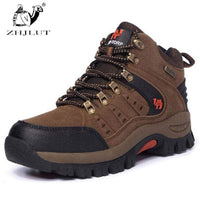 ZHJLUT Men's Women' Hiking Shoes Water-resistant Outdoor Shoe Man Boot Athletic Shoes Top Mountain Climbing Boots Shoes