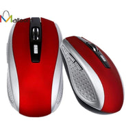 Malloom Gift Sale 2.4GHz Wireless Gaming Mouse USB Receiver Pro Gamer For PC Laptop Desktop
