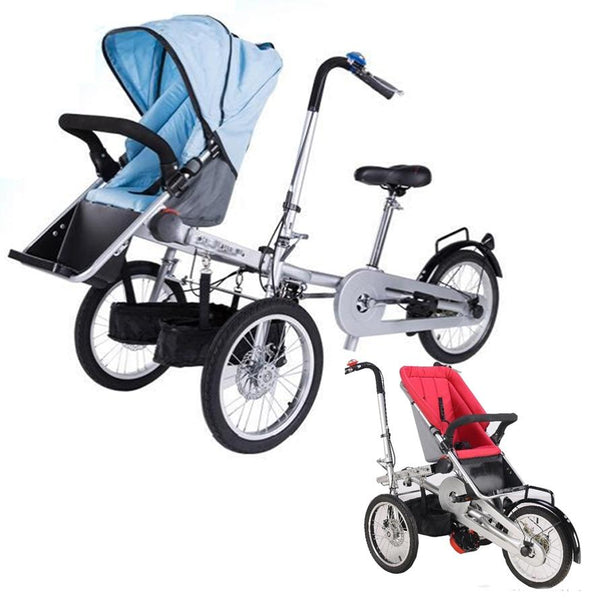 Tricycle Stroller travling taga  mother baby stroller bike tricycle stroller - inaaz.biz