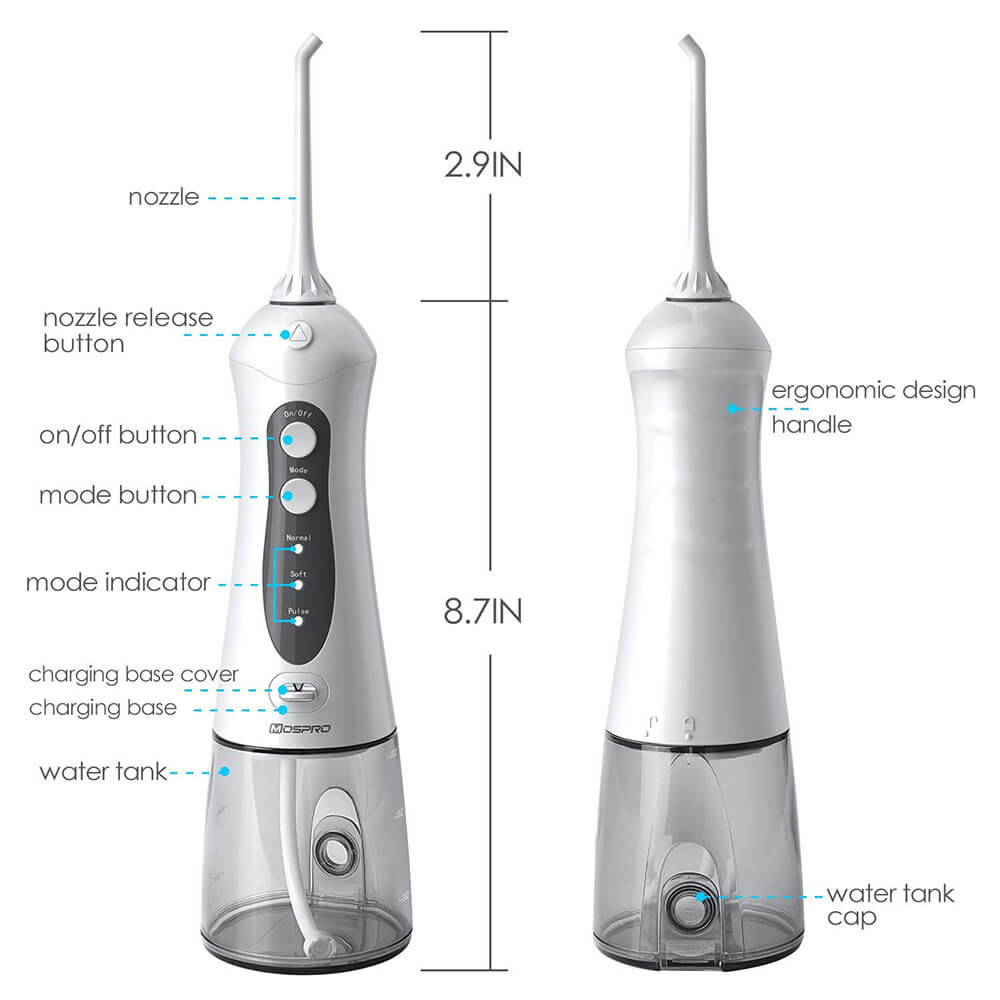 2018 Portable Cordless Water Flosser