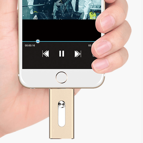 3-in-1 Flash Drive for iOS/Android/PC