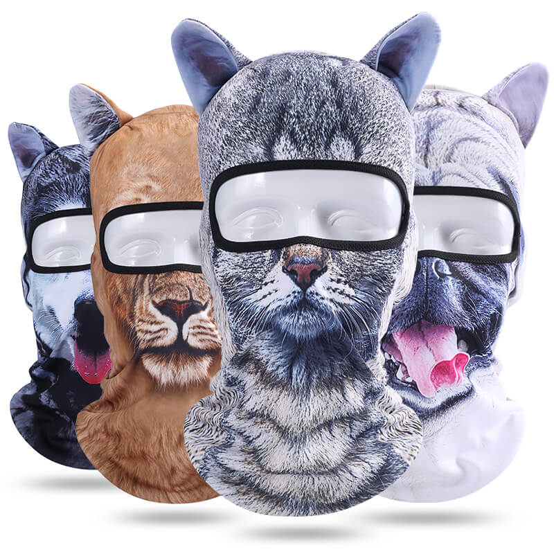 3D Animal Outdoor Mask