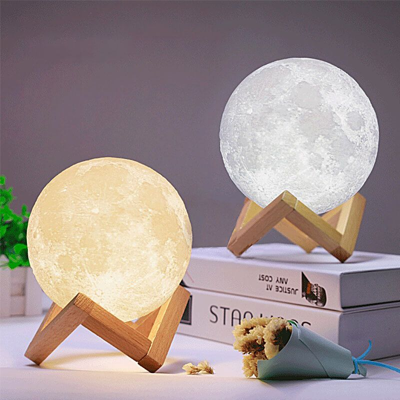 3D Printing Touch Control Moon Light