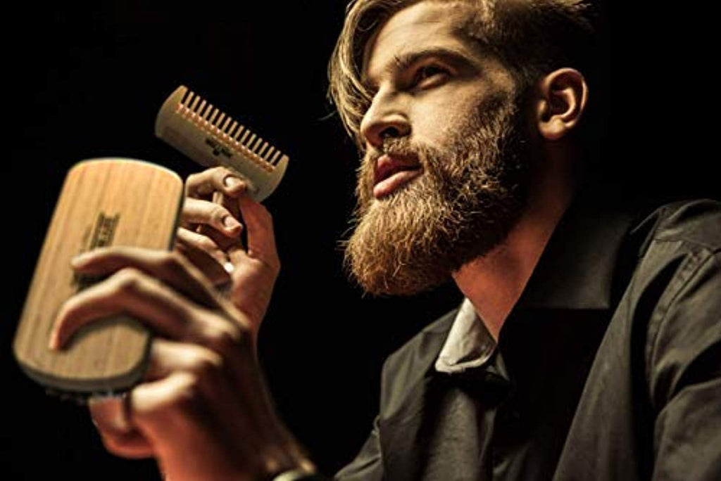 Beard Brush & Comb Set for Men's Care