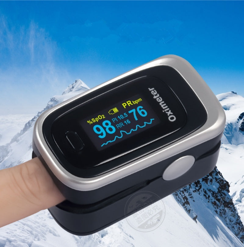 Premium Fingertip Pulse Oximeter Blood Oxygen Monitor