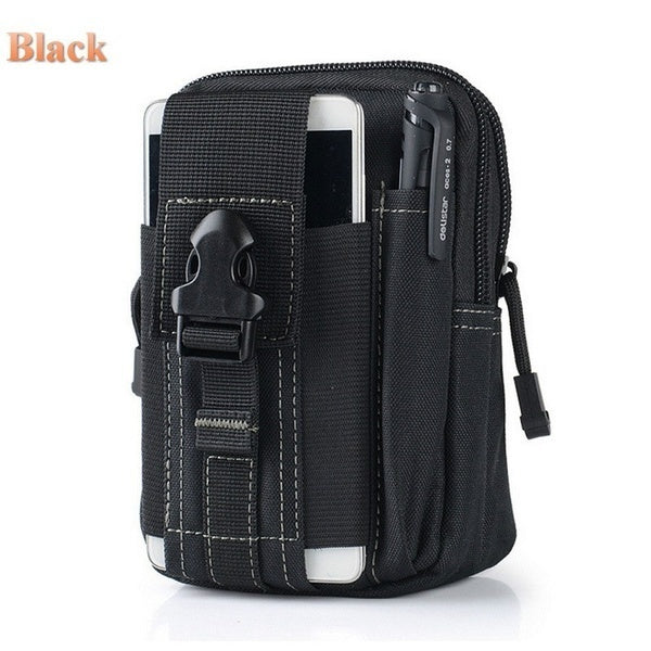 Men Tactical Belt Waist Pouch