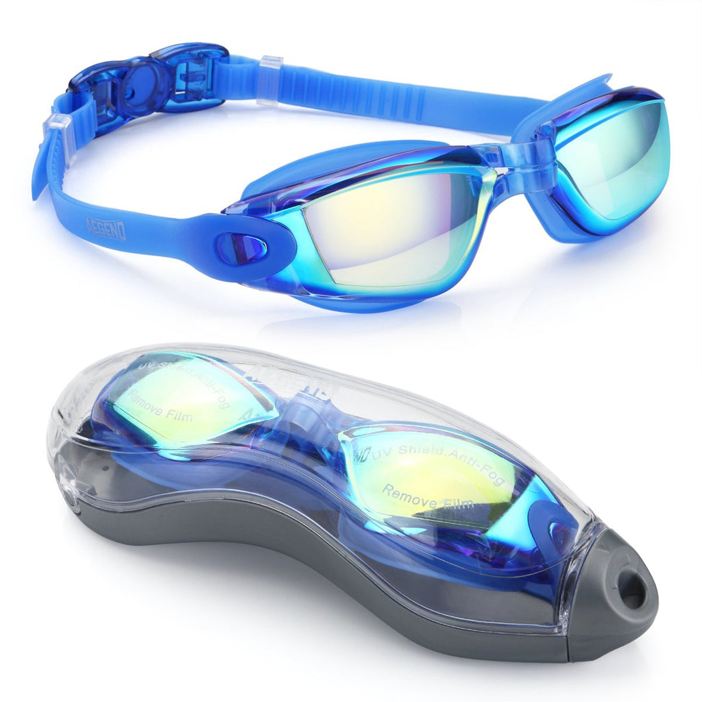 No Leaking Anti Fog UV Protection Swimming Goggles