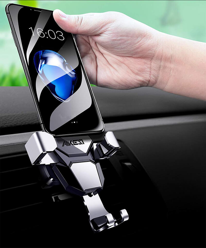 Automatic Gravity Car Phone Holder