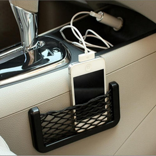 Car Phone Storage Net Bag (2-Pack)