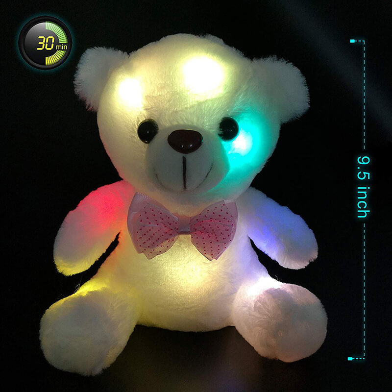 Colorful LED Glow Teddy Bear