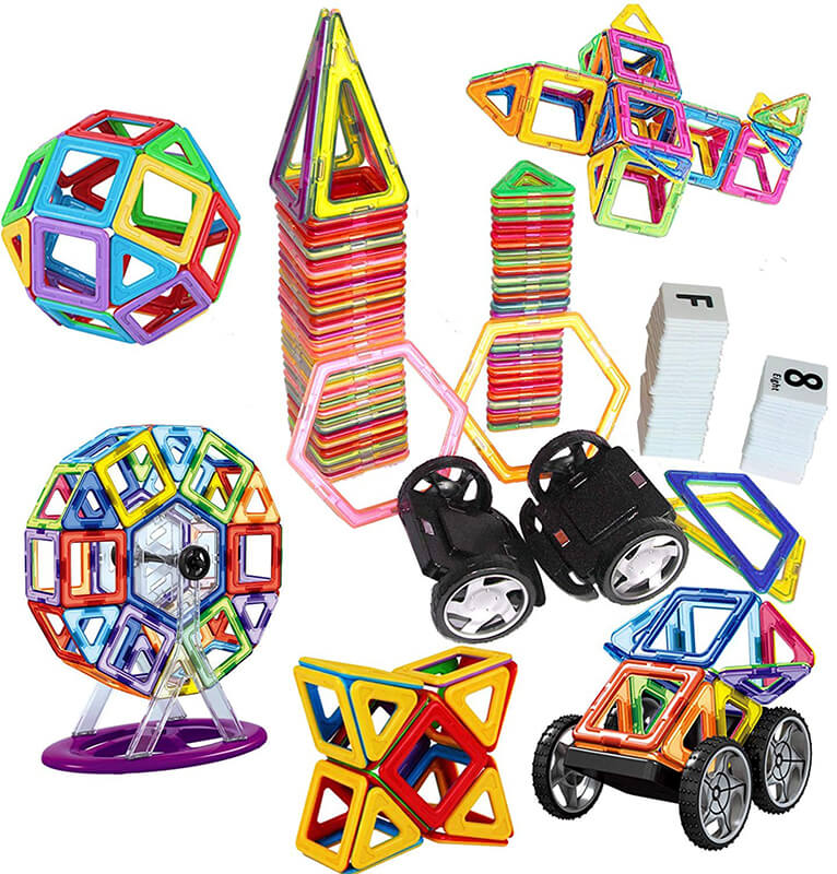 Creative Magnetic Building Blocks