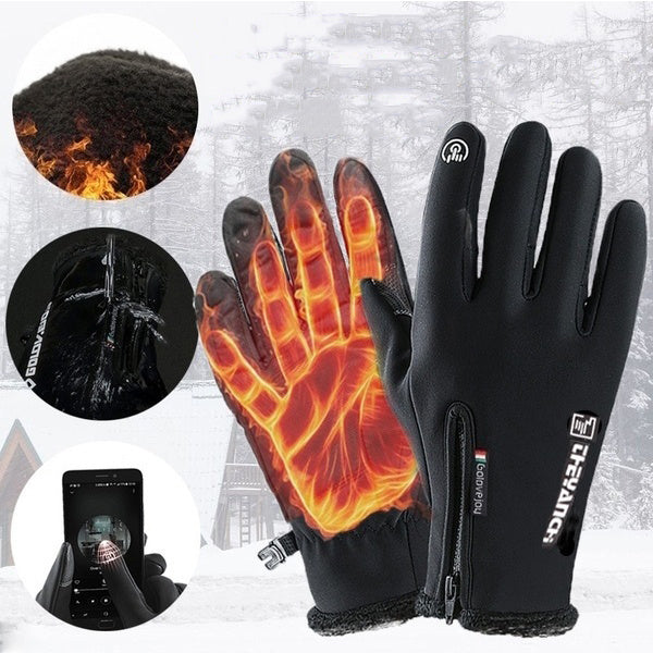 Double Waterproof Touchscreen Warm Gloves