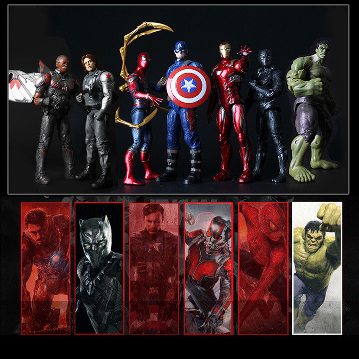 Extremely Realistic Marvel Heroes Series