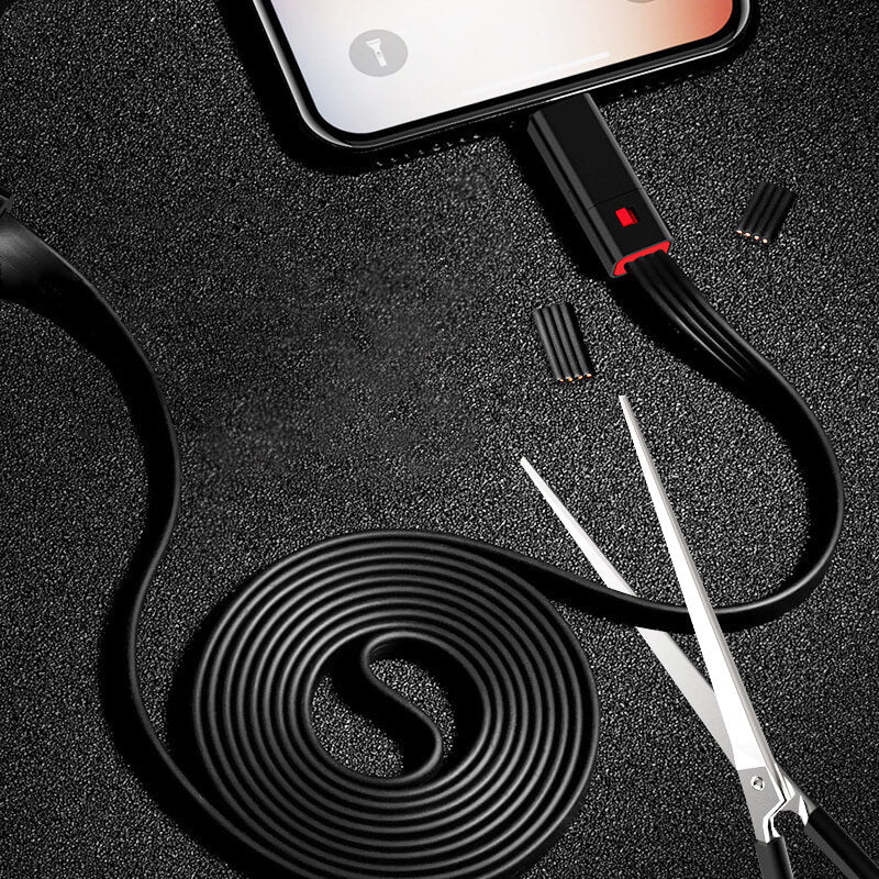 Fast Renew Repairable Charging Cable
