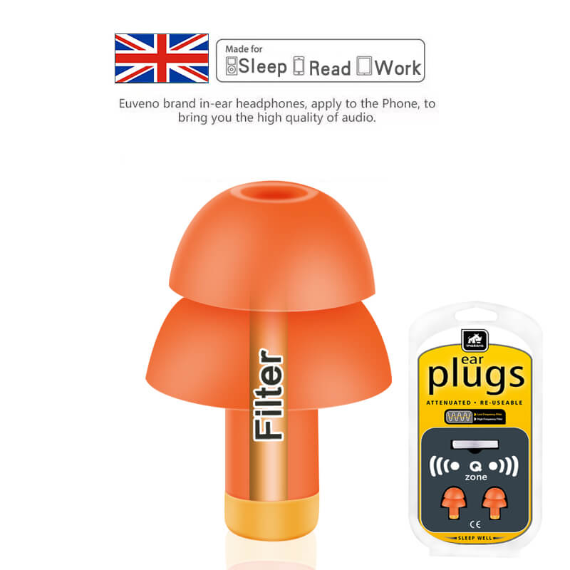 Filter Sleep Earplug With Adjustable Frequency