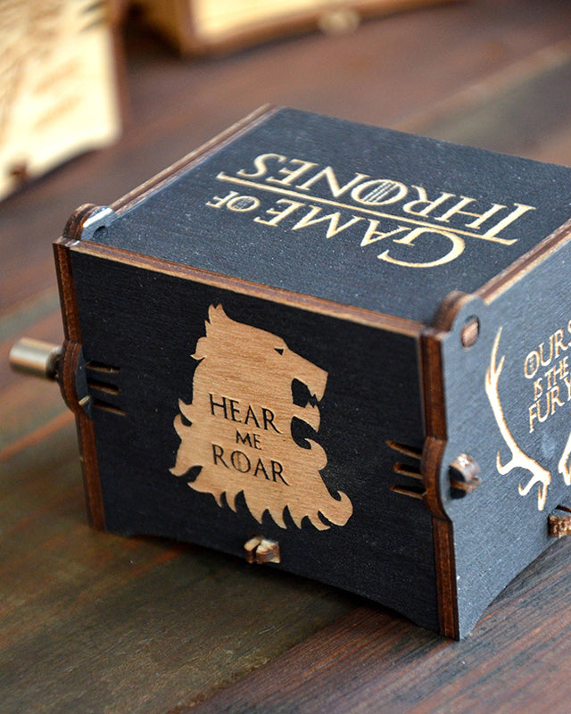 Game of Thrones Handmade Music Box