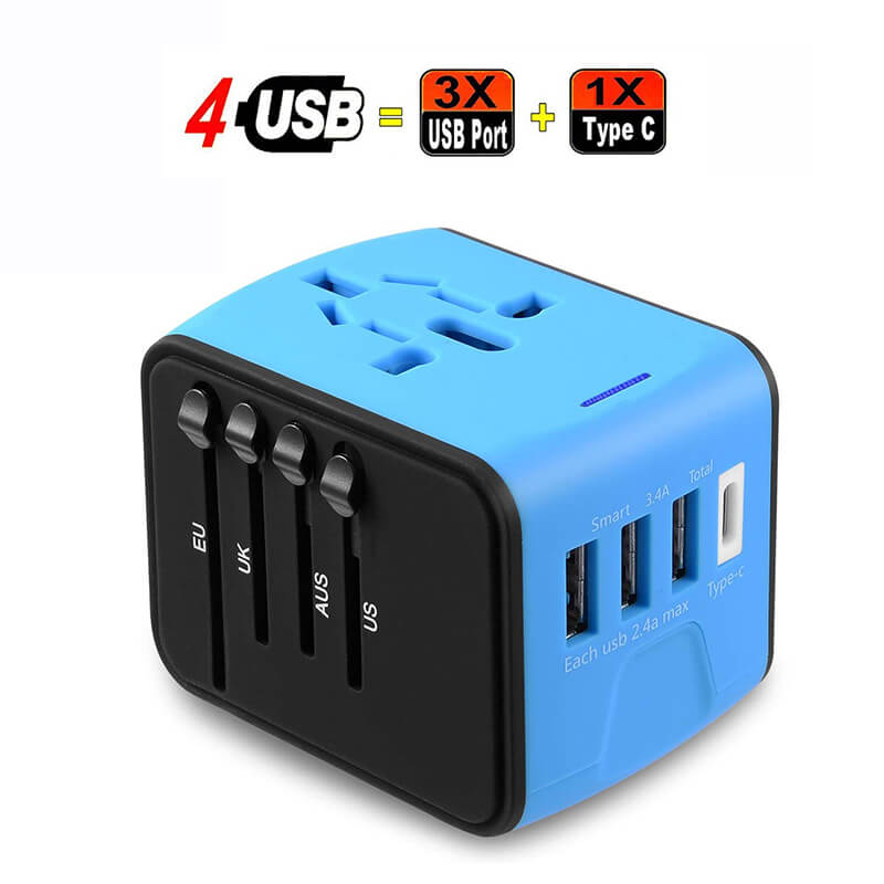 Global Universal Conversion Plug Charger Trendowner