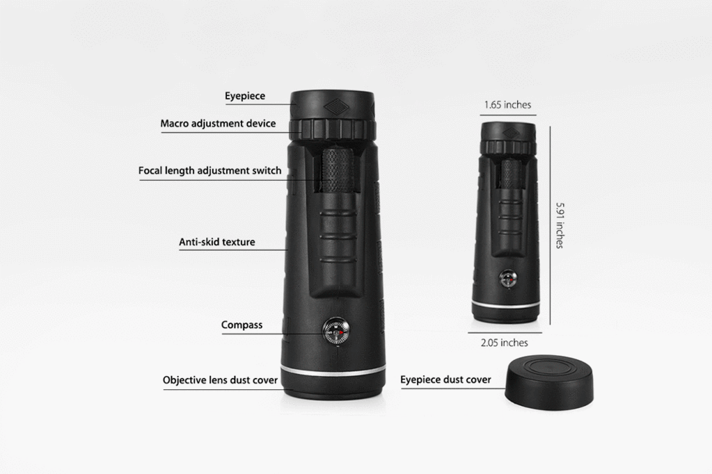 Hd mini monocular telescope with tripod u trendowner