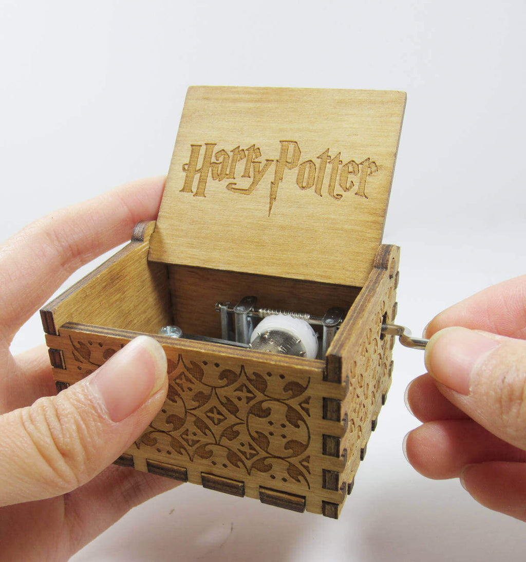 handmade wooden music box-harry potter/game of thrones/star wars