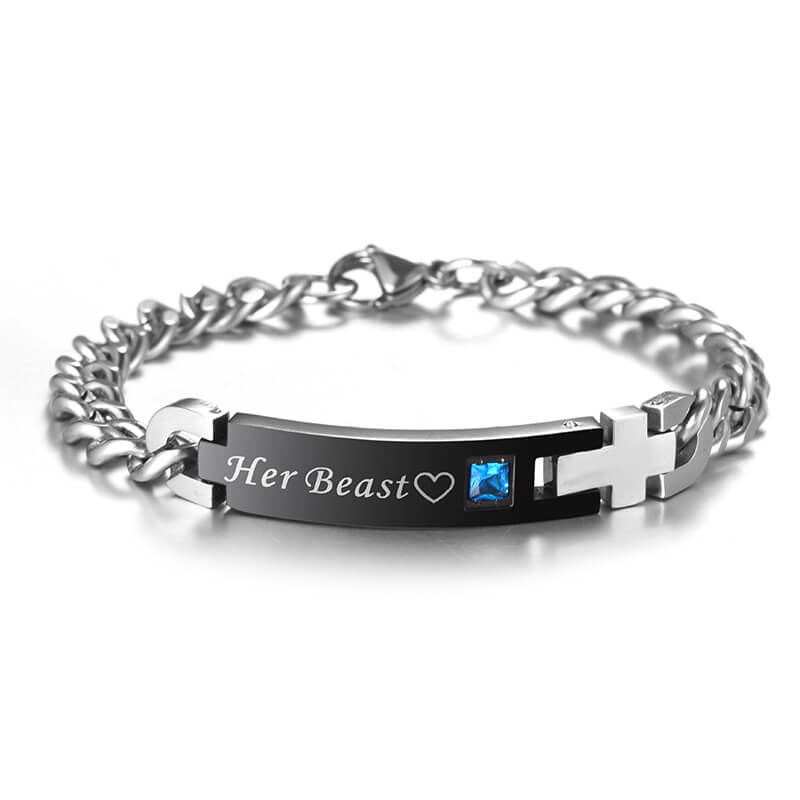'His & Her' Couple Bracelet
