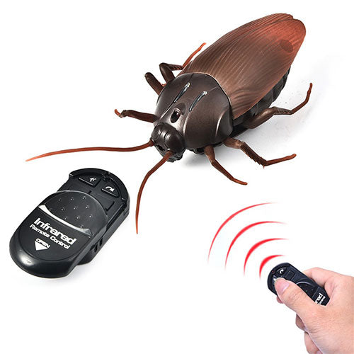 Infrared Remote Control Cockroach Toy