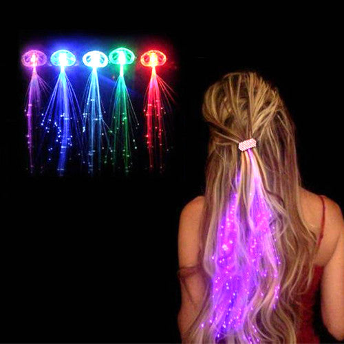 LED Light Up Hair Extensions