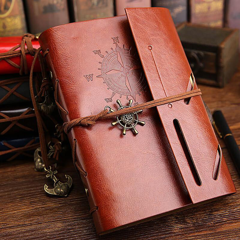 Leather Vintage Nautical Journal Notebook