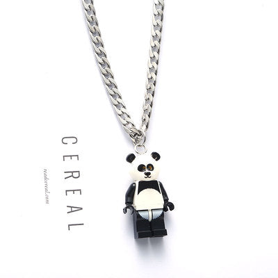 LEGO Cartoon Characters Necklace