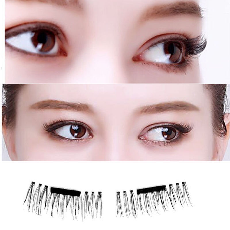 2 Pairs of Magnetic False Eyelashes
