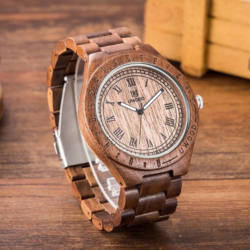 Mens Natural Wooden Watch