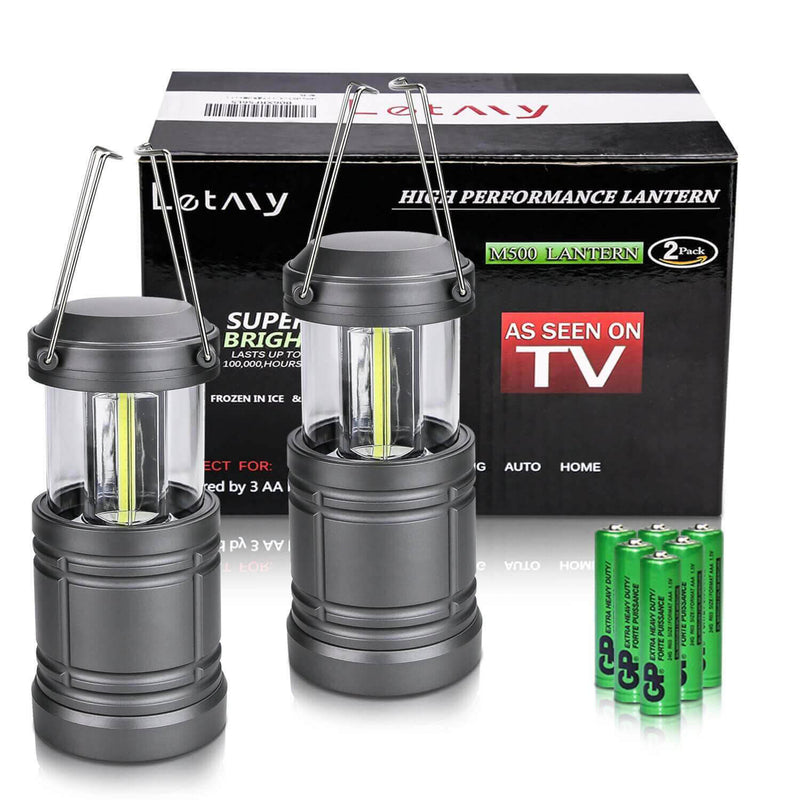 NEW COB LED Technology Camping Lantern (A Pair)