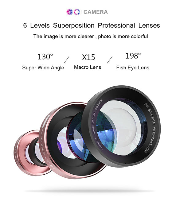 4K Professional DSLR Lens For Mobile Phone