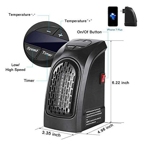 Protable Fan Heater Warmer