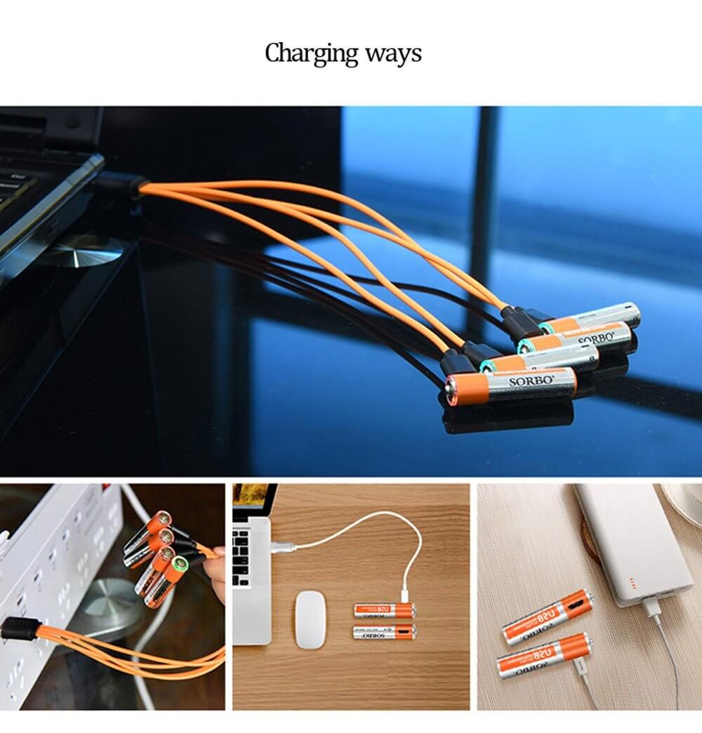 Rechargeable Batteries By Usb Port Trendowner Wiring Ports
