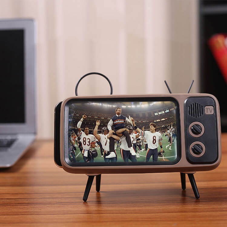 Retro Cellphone TV Bluetooth Speaker