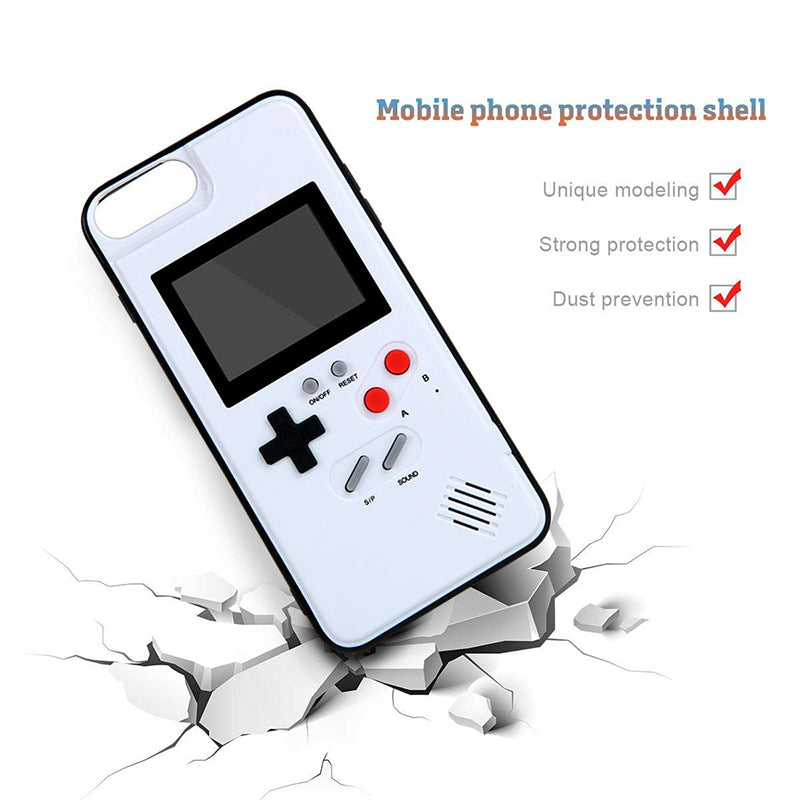 Color Display Retro Game Boy iPhone Case