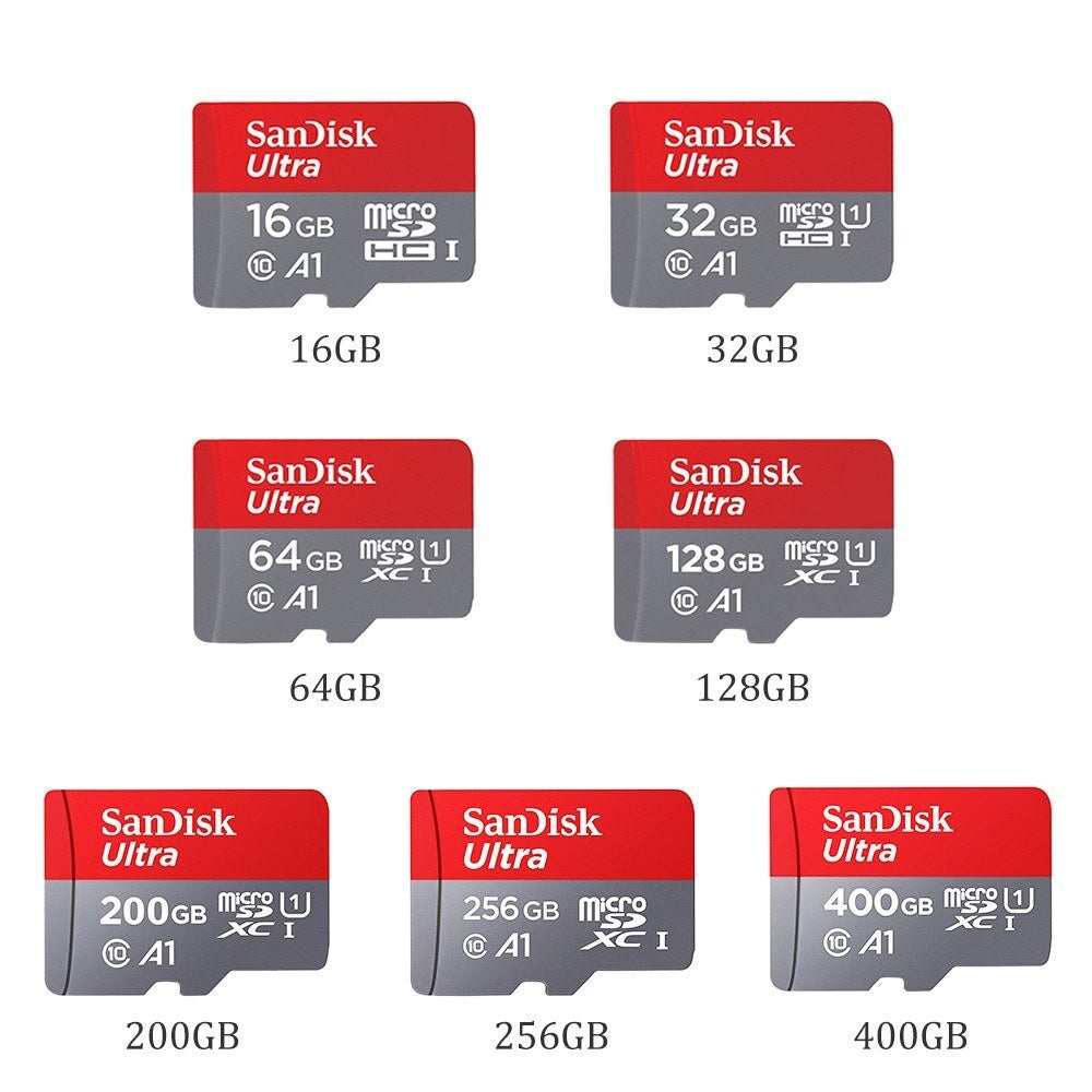 SanDisk Ultra Micro SD Flash Memory Card 100MB/s
