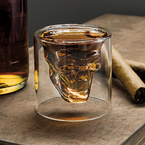 Skull Crystal Shot Glass